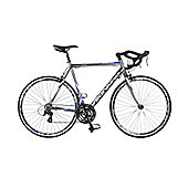 56cm Viking Tre-Valli 24 Speed STI 700c Wheel Gents, Grey