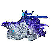 Transformers Age of Extinction - Dino Sparkers Autobot Drift and Dinobot Slug Figures