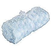 Tesco Loves Baby Rose Blanket Blue
