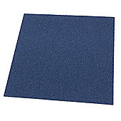 Westco 51cm x 51cm Carpet Tile, Blue