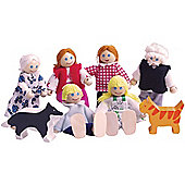 Bigjigs Toys JT117 Heritage Playset Doll Family