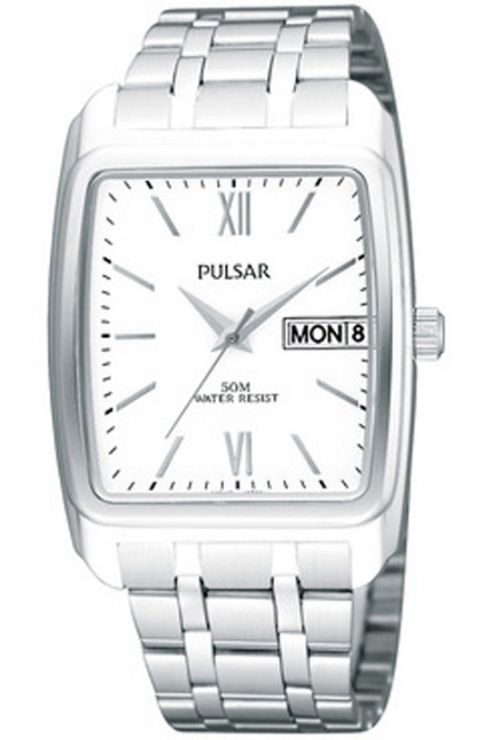 Pulsar Gents Stainless Steel Bracelet Watch PXN213X1
