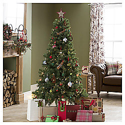 Evergreen Fir 6ft Christmas Tree, Tesco
