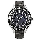 Karen Millen Ladies Swarovski Crystal Watch - KM102BB