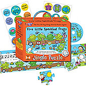 ELC Jingle Puzzle - Five Little Speckled Frogs
