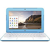 HP Chromebook 11-2200na (Cel N2840 2GB, 16GB Chrome OS) Blue