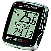 Sigma Sport BC16.12 STS Wireless Computer. 16 Functions