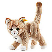 Steiff Mizzy 25cm Blond Tabby Cat Soft Toy