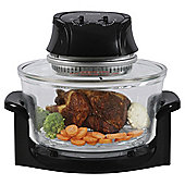 Abode G2SO6001B 12L 1300W Halogen Oven Black