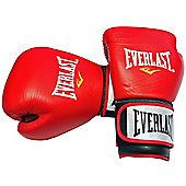 Everlast Leather Sparring Boxing Gloves - 14oz
