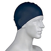 Speedo Long Hair Senior Silicone Swimming Cap - Black
