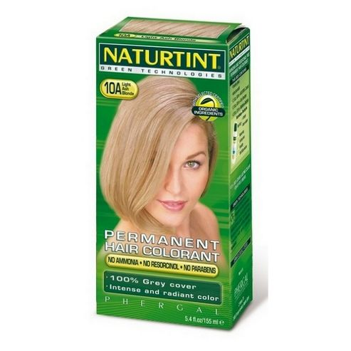 Naturtint 10A (Light Ash Blonde) (170ml Liquid)