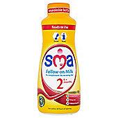 SMA Follow On Baby Milk Liquid 6 Months Plus 1 Litre