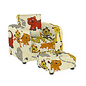 Chair with Footstool - Jungle Party