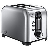 Russell Hobbs Henley 23530 2 Slice Toaster - Brushed Stainless Steel