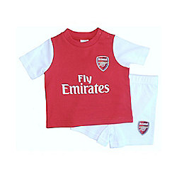 Arsenal Baby Kit T-Shirt & Shorts Set - 2015/16