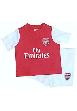 Arsenal Baby Kit T-Shirt & Shorts Set - 2015/15 - Red & White