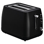 Tesco 2 Slice Plastic Toaster - Black