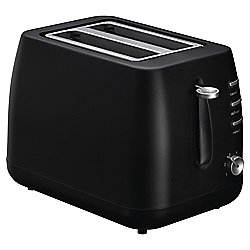 Tesco 2TBP13 2 Slice Black Plastic Toaster