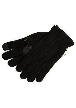 "F&F Fleece Gloves with Thinsulateâ""¢ - Black"