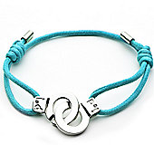 Cuffs of Love Cord Bracelet - Turquoise Medium
