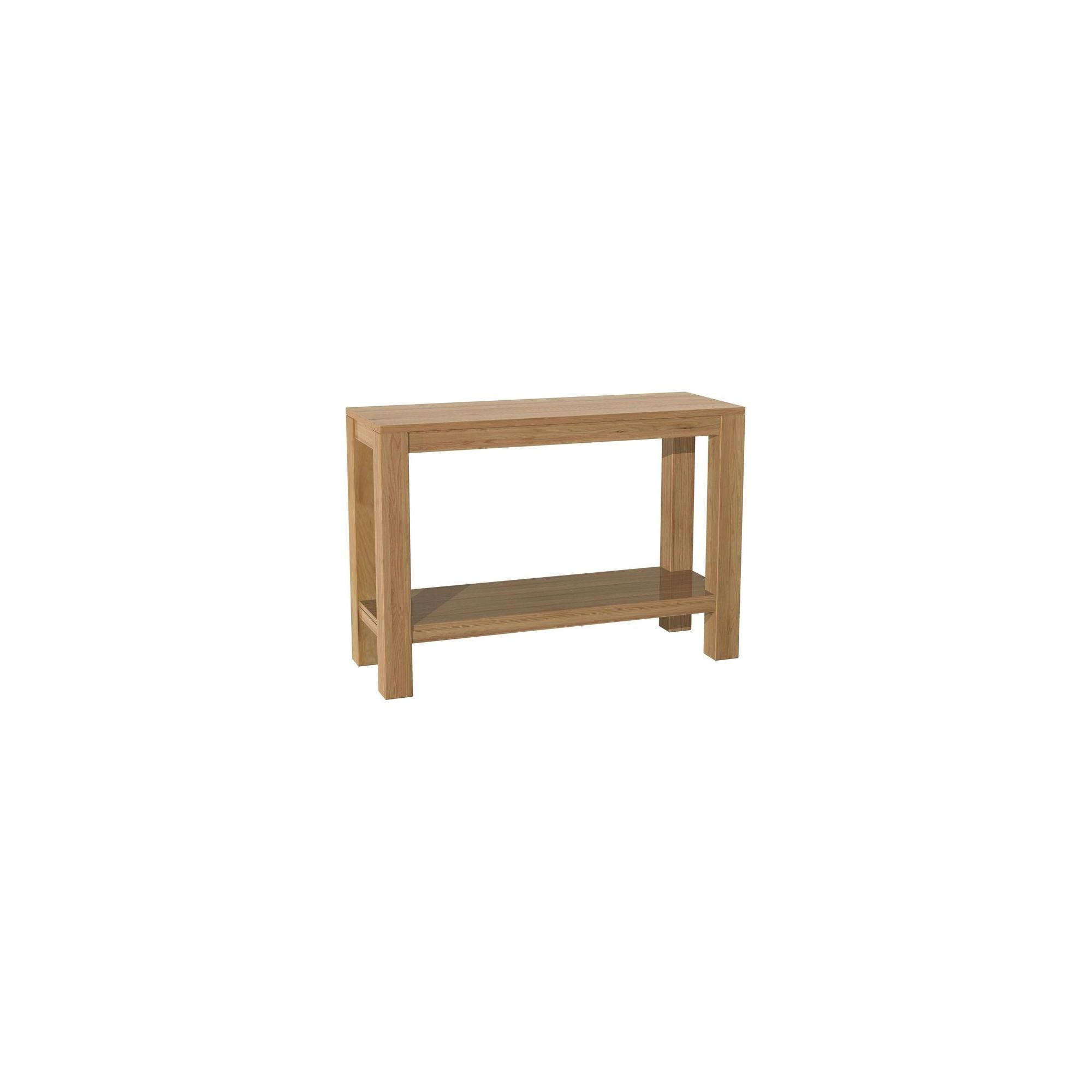 Kelburn Furniture Milano Console Table in Clear Satin Lacquer