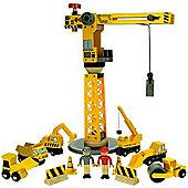 Bigjigs Rail BJT200 Big Crane Construction Set
