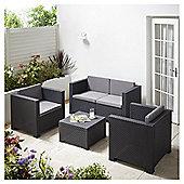 Diva Resin Sofa Set, Anthracite
