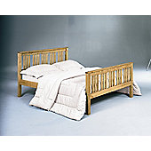 Home Zone Vintage Shaker Bed Frame - Double
