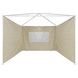 Bentley Garden Beige Additional Side Walls For Gazebo