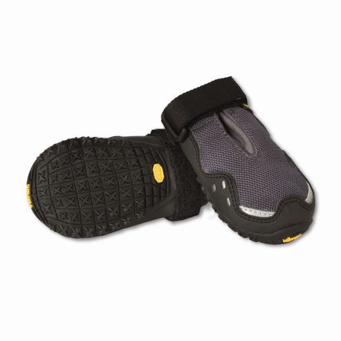 Ruff Wear Bark'n Boots? Grip Trex? Dog Boot in Granite Grey - XX-Small (5.1cm W)