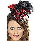 Mini Pirate Hat Red