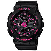 Casio Ladies Resin World Time Watch BA-111-1AER
