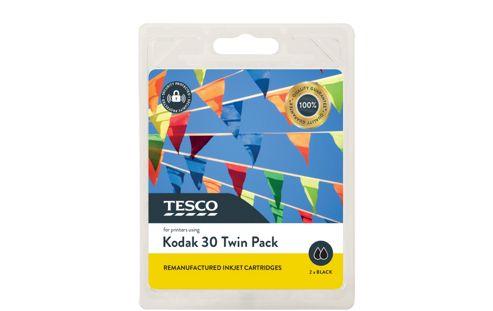 Tesco K30 Black Twin