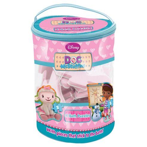buy doc mcstuffins bath puzzle from our baby bath toys range tesco. Black Bedroom Furniture Sets. Home Design Ideas