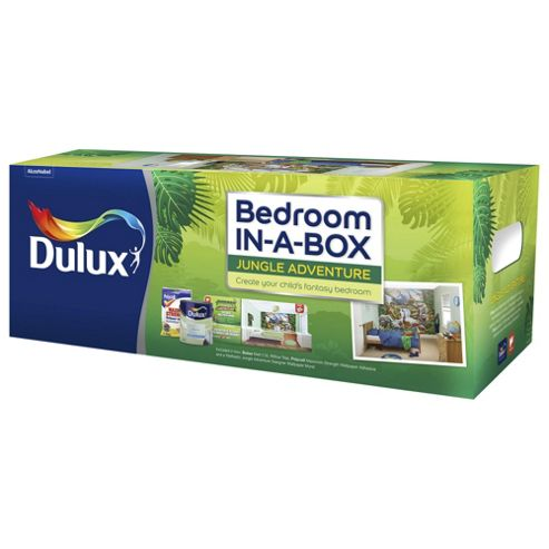 buy jungle dulux bedroom in a box from our emulsion paint range