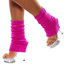 Smiffy's - Leg Warmers Hot Pink