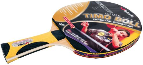 Timo Boll Platinum Table Tennis Bat