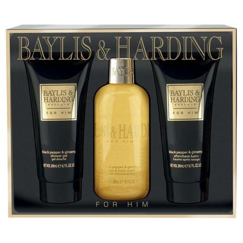 Baylis & Harding For Him Black Pepper & Ginseng Gift Set
