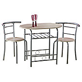 Value by Wayfair Oleander Dining Table and 2 Chairs - Beech