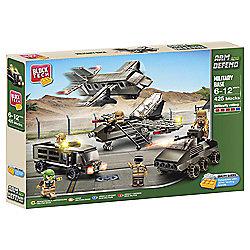 Block Tech Arm & Defend Military Base