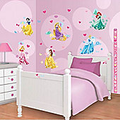 Disney Princess Room Decor Kit with Height Chart