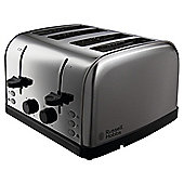 Russell Hobbs Futura 18790 4 Slice Toaster - Brushed Stainless Steel