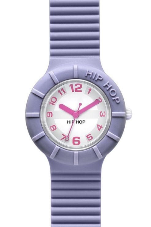Hip Hop Unisex Numbers Fairy Violet Strap Watch HWU0126
