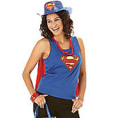 Rubie's Fancy Dress - Supergirl (TM) Glitter Stetson - Here Come The Girls - Adult