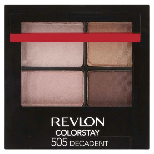 Revlon ColorStay™ 16 Hour Eyeshadow Quad Decadent