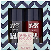 Ashden & Co by Mad Nail Duo Gift Set
