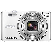Nikon Coolpix S7000 Superzoom Digital Camera,  WHITE