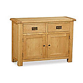 Zelah Oak Small Sideboard - Rustic Oak