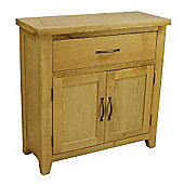 Chelsea Oak Mini 1 Drawer 2 Door Sideboard